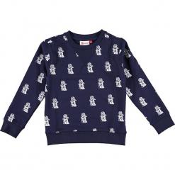 """Bluza """"Sebastian 713"""" w kolorze granatowym. Zielone bluzy dla chłopców marki Lego Wear Fashion, z bawełny, z długim rękawem. W wyprzedaży za 82.95 zł."""