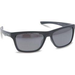 Okulary przeciwsłoneczne OAKLEY - Holston OO9334-1158 Matte Dark Grey/Prizm Black Polarized. Szare okulary przeciwsłoneczne męskie Oakley, z tworzywa sztucznego. W wyprzedaży za 649.00 zł.