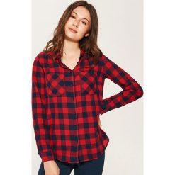 Koszula w kratę - Czerwony. Czerwone koszule damskie House. Za 59.99 zł.