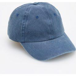 Jeansowa czapka z daszkiem - Niebieski. Czapki dla dzieci marki Reserved. W wyprzedaży za 14.99 zł.