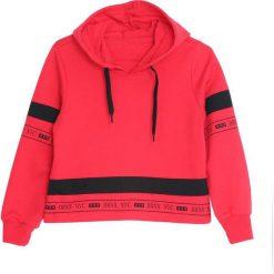 Czerwona Bluza Purify. Czerwone bluzy dla dziewczynek Born2be. Za 39.99 zł.