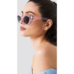 NA-KD Accessories Okulary przeciwsłoneczne kocie oczy - Pink. Okulary przeciwsłoneczne damskie marki QUECHUA. W wyprzedaży za 48.57 zł.