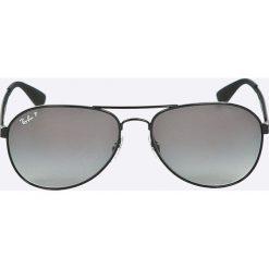 Ray-Ban - Okulary RB3549. Szare okulary przeciwsłoneczne męskie Ray-Ban, z materiału. Za 699.90 zł.