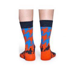 Skarpetki Happy Socks  DGT01-4000. Szare skarpety męskie Happy Socks, z bawełny. Za 24.43 zł.