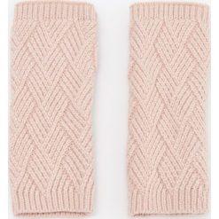 Rękawiczki bez palców - Różowy. Rękawiczki damskie marki B'TWIN. W wyprzedaży za 19.99 zł.