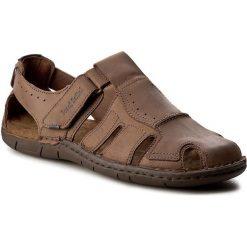 Sandały JOSEF SEIBEL - Paul 15 43215 768 310 Brasil. Brązowe sandały męskie Josef Seibel, z materiału. W wyprzedaży za 249.00 zł.