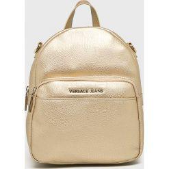 Versace Jeans - Plecak. Szare plecaki damskie Versace Jeans, z jeansu. W wyprzedaży za 549.90 zł.