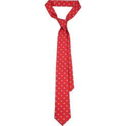 Krawat Czerwony w Kwiatki. Czerwone krawaty i muchy LANCERTO, w kwiaty, eleganckie. Za 139.90 zł.