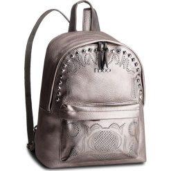 Plecak NOBO - NBAG-F0780-C019 Srebrny. Szare plecaki damskie Nobo, ze skóry ekologicznej, klasyczne. W wyprzedaży za 179.00 zł.