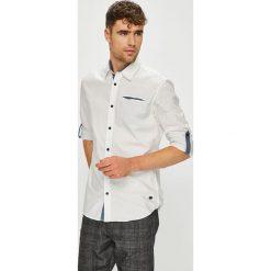 Jack & Jones - Koszula. Szare koszule męskie Jack & Jones, z bawełny, z klasycznym kołnierzykiem, z długim rękawem. W wyprzedaży za 139.90 zł.