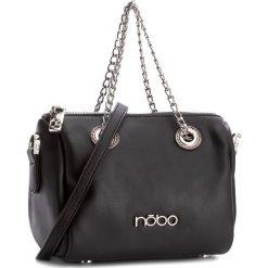 Torebka NOBO - NBAG-C4330-C020 Czarny. Czarne torebki do ręki damskie Nobo, ze skóry ekologicznej. W wyprzedaży za 99.00 zł.