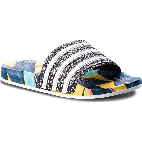 separation shoes 8e73f a2e96 Klapki adidas - adilette B28007 SupcolFtwwhtCblack - Klapki