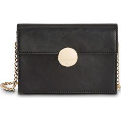 Mała torebka na ramię z okrągłym elementem bonprix czarno-złoty. Torby na ramię damskie marki B'TWIN. Za 49.99 zł.