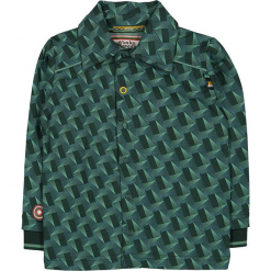 """Koszula """"Take Me To The Top"""" w kolorze zielonym. Koszule dla chłopców marki bonprix. W wyprzedaży za 82.95 zł."""