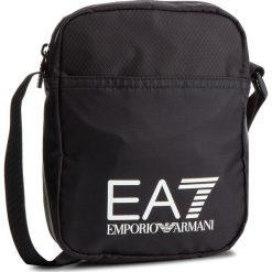Saszetka EA7 EMPORIO ARMANI - 275658 CC731 00020 Black. Czarne saszetki męskie EA7 Emporio Armani, z materiału, młodzieżowe. Za 229.00 zł.