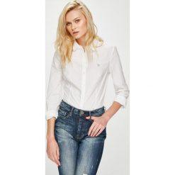 Guess Jeans - Koszula. Szare koszule damskie Guess Jeans, z jeansu, z długim rękawem. W wyprzedaży za 259.90 zł.
