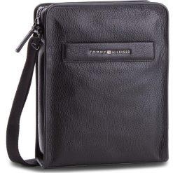 Saszetka TOMMY HILFIGER - Elevated Leather Rep AM0AM03617 002. Czarne saszetki męskie Tommy Hilfiger, ze skóry, młodzieżowe. Za 649.00 zł.