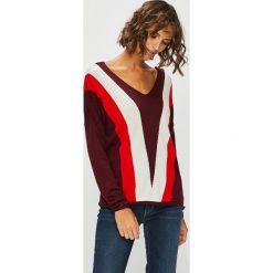 Only - Sweter. Brązowe swetry damskie Only, z dzianiny. Za 119.90 zł.