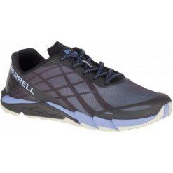 Merrell Buty Do Biegania Bare Access Flex Black Metalelic Lilac 7,5 (41). Czarne obuwie sportowe damskie Merrell. Za 445.00 zł.