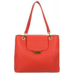Grosso Bag Torebka Damska Czerwona. Czerwone torebki do ręki damskie Grosso Bag, ze skóry. Za 195.00 zł.