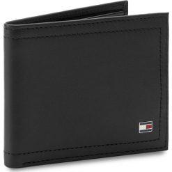 Duży Portfel Męski TOMMY HILFIGER - Harry Mini CC Wallet AM0AM01256  002. Czarne portfele męskie Tommy Hilfiger, ze skóry. Za 229.00 zł.