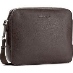 Torba na laptopa TRUSSARDI JEANS - Ottawa 71B00011 B290. Brązowe torby na laptopa damskie TRUSSARDI JEANS, z jeansu. W wyprzedaży za 349.00 zł.