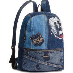 Plecak DESIGUAL - 18WAXD06 Granatowy. Niebieskie plecaki damskie Desigual, z materiału. W wyprzedaży za 279.00 zł.