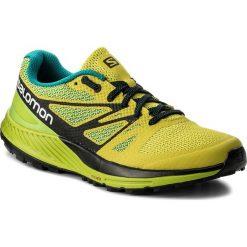 Buty SALOMON - Sense Escape 400920 27 W0 Sulphur Spring/Lime Green/Black. Zielone buty sportowe męskie Salomon, z materiału. W wyprzedaży za 319.00 zł.