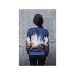 Bluza Space Phone. Szare bluzy damskie Bahabay, z nadrukiem, z bawełny. Za 125.30 zł.
