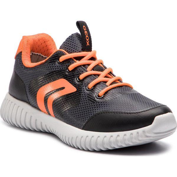 Sneakersy GEOX J Waviness B. B J846TB 0FU54 C0038 S BlackOrange