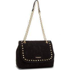 Torebka TWINSET - Tracolla AA8PFQ  Nero 00006. Czarne torebki do ręki damskie Twinset, z materiału. Za 629.00 zł.