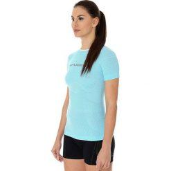 Brubeck Koszulka damska  3D Run Pro  błękitna r. XL (SS12030). T-shirty damskie Brubeck. Za 122.98 zł.