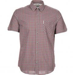 """Koszula """"SS Pop Check"""" - Regular fit - w kolorze turkusowo-czerwonym. Czerwone koszule męskie Ben Sherman, w kratkę, z bawełny, button down. W wyprzedaży za 130.95 zł."""