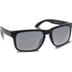 Okulary przeciwsłoneczne OAKLEY - Holbrook OO9102-D655 Matte Black/Prizm Black Polarized. Czarne okulary przeciwsłoneczne męskie Oakley, z tworzywa sztucznego. W wyprzedaży za 649.00 zł.