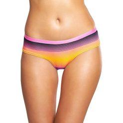 Happy Socks - Figi Hipster Sunrise. Różowe figi damskie Happy Socks, z bawełny. W wyprzedaży za 39.90 zł.