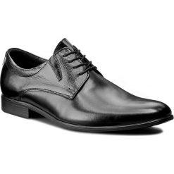 Półbuty LASOCKI FOR MEN - A-5464P4 Czarny. Czarne eleganckie półbuty Lasocki For Men, z materiału. Za 229.99 zł.