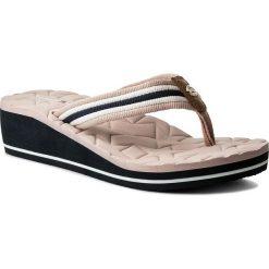 Japonki TOMMY HILFIGER - Comfort Mid Beach Sandal FW0FW02367 Dusty Rose 502. Klapki damskie marki bonprix. W wyprzedaży za 139.00 zł.
