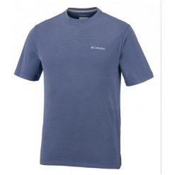 Columbia Męski T- Shirt Sun Ridge Ii Crew Carbon, M. Szare t-shirty męskie Columbia. W wyprzedaży za 119.00 zł.