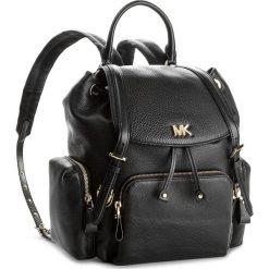 Plecak MICHAEL MICHAEL KORS - Beacon 30S8GOXB2L  Black. Czarne plecaki damskie MICHAEL Michael Kors, ze skóry. W wyprzedaży za 1,199.00 zł.