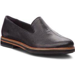 Lordsy CLARKS - Frida Loafer 261359904 Black Leather. Czarne mokasyny damskie Clarks, ze skóry. W wyprzedaży za 349.00 zł.