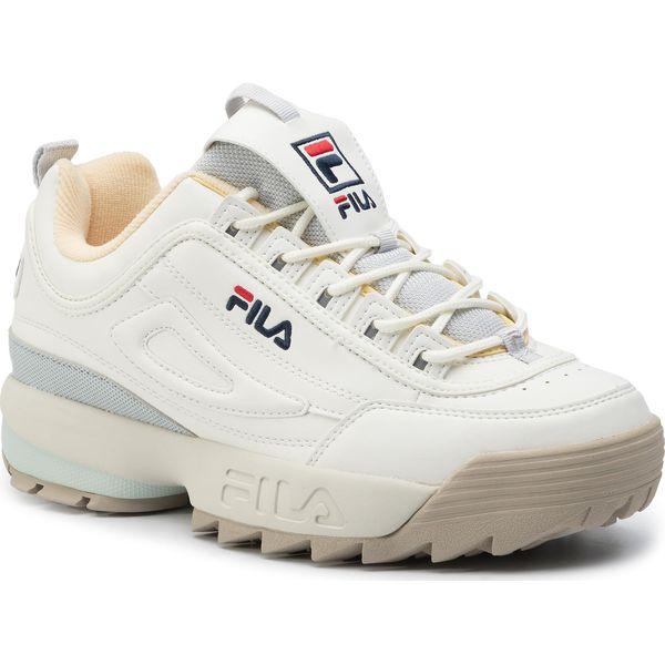 Sneakersy FILA Disruptor Cb Low Wmn 1010604.02X MarshmallowGray Violet