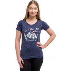 Brubeck Koszulka damska outdoor wool granatowa r. L (SS12720K). T-shirty damskie Brubeck. Za 198.19 zł.