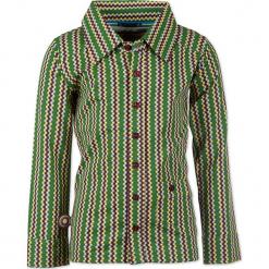 """Koszula """"Stay High"""" w kolorze zielonym ze wzorem. Koszule dla chłopców marki bonprix. W wyprzedaży za 102.95 zł."""