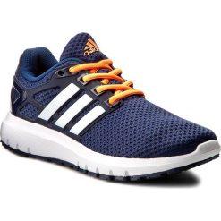 Buty adidas - Energy Cloud Wtc W BB3166 Mystery Blue/Ftwr White/Glow Orange. Niebieskie obuwie sportowe damskie Adidas, z materiału. W wyprzedaży za 199.00 zł.