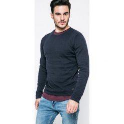 Produkt by Jack & Jones - Sweter. Szare swetry przez głowę męskie PRODUKT by Jack & Jones, z bawełny, z okrągłym kołnierzem. W wyprzedaży za 59.90 zł.