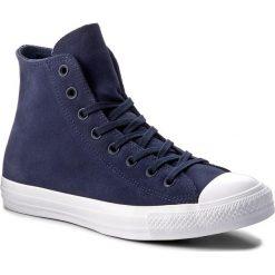Trampki CONVERSE - Ctas Hi 157521C Midnight Navy/Midnight Navy. Niebieskie trampki męskie Converse, z gumy. W wyprzedaży za 269.00 zł.