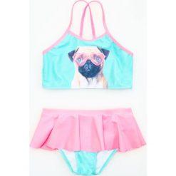 Dwuczęściowy strój kąpielowy - Różowy. Stroje kąpielowe dla dziewczynek marki bonprix. W wyprzedaży za 19.99 zł.