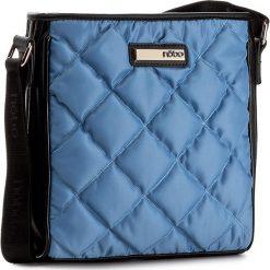 Torebka NOBO - NBAG-C1741-C012 Niebieski. Niebieskie torebki do ręki damskie Nobo, z materiału. W wyprzedaży za 139.00 zł.