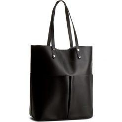 Torebka CREOLE - K10321  Czarny. Czarne torebki do ręki damskie Creole, ze skóry. W wyprzedaży za 259.00 zł.