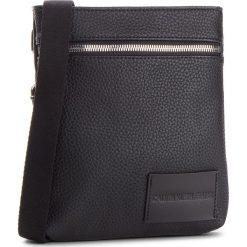 Saszetka CALVIN KLEIN JEANS - Pebble Essential Mic K60K400660  001. Czarne saszetki męskie Calvin Klein Jeans, z jeansu, młodzieżowe. Za 299.00 zł.